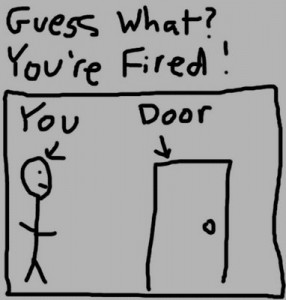 how to say you were fired on a job application