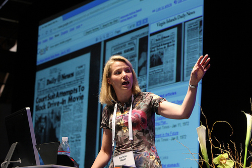 Marissa Mayer, Yahoo, mobile workforce