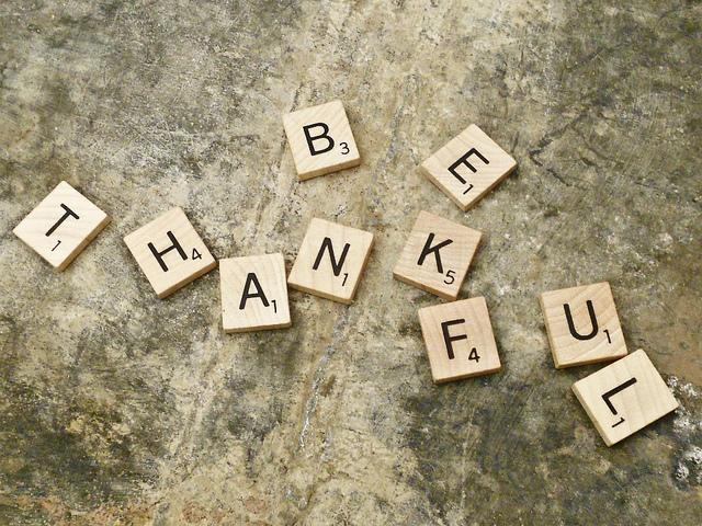 be thankful freelancers