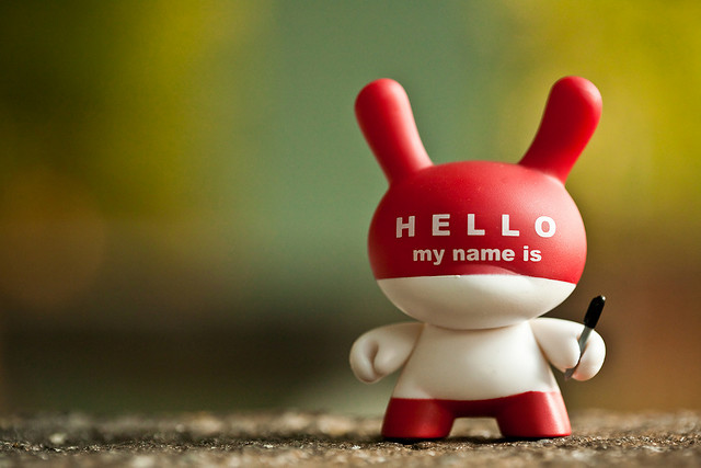 Hello My Name is... by bump on Flickr