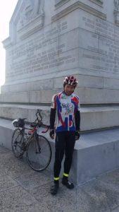 Shermer's Neck Felix Wong Trans Am Bike Race